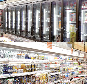 冷凍・冷蔵庫用照明